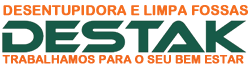 Desentupidora e Limpa Fossa Destak Logo